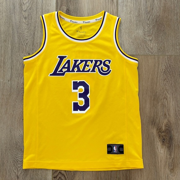 Anthony Davis Jersey Lakers youth kids small
